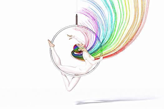 Aerial Hoop Dance The Enchanting Spirit by Betsy Knapp