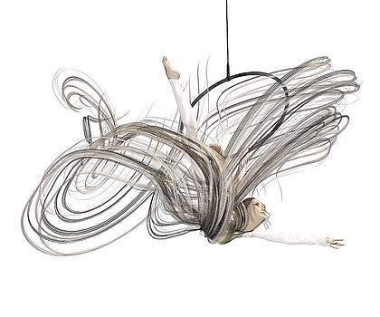 Aerial Hoop Dancing I Am Flight by Betsy Knapp