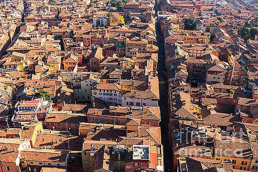 Aerial view of Bologna by Marina Zanotti