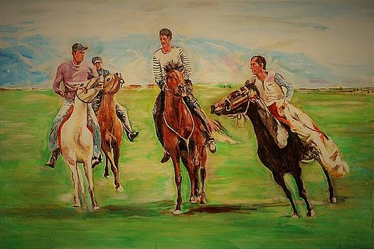 Afghan game by Khalid Saeed