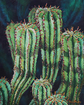 African Milk Cactus by Patricia Pasbrig