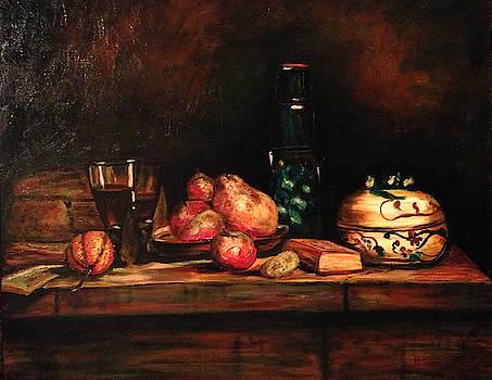 After Chardin- Still Life by Richard Nowak