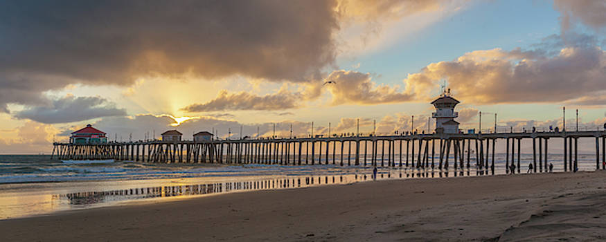 Cliff Wassmann - After the Storm Huntington Beach