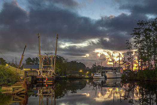 After the Storm Sunrise by Cindy Lark Hartman