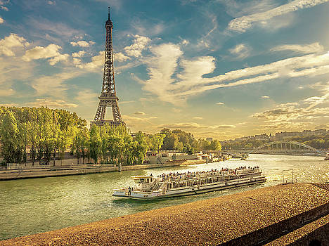 Afternoon in Paris by Andrew Matwijec
