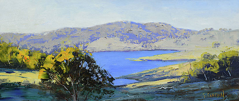 Afternoon Light Lake Lyell by Graham Gercken