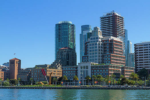 Afternoon on the San Francisco Waterfront by Bonnie Follett