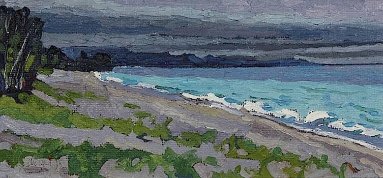 Phil Chadwick - Agawa Beach Sunset