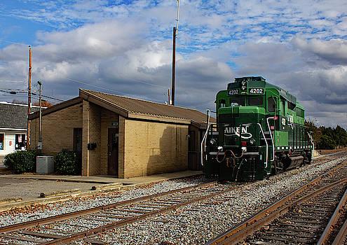 Aiken Railway 4202 Color 21 by Joseph C Hinson