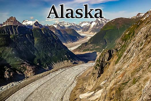 Alaska - Glacier Row In Glacier Bay National Park Juneau Alaska by G Matthew Laughton