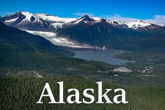 Alaska - Mendenhall Glacier and Auke Lake by G Matthew Laughton