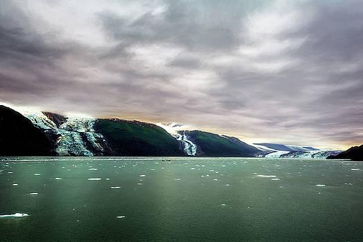 Alaskan Glaciers by Maria Coulson