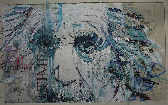 Albert Einstein - Age Of Giants by Paul Lovering