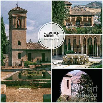 Alhambra and Generalife by John Edwards