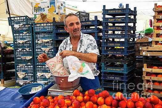 Bob Phillips - Alibeykoy Market Vendor
