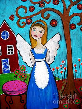 Alice In Wonderland Angel by Pristine Cartera Turkus