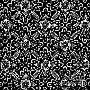 Amy E Fraser - Alien Bloom 29 Black and White