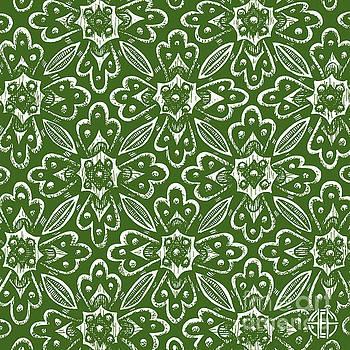 Amy E Fraser - Alien Bloom 29 Plasticine Green