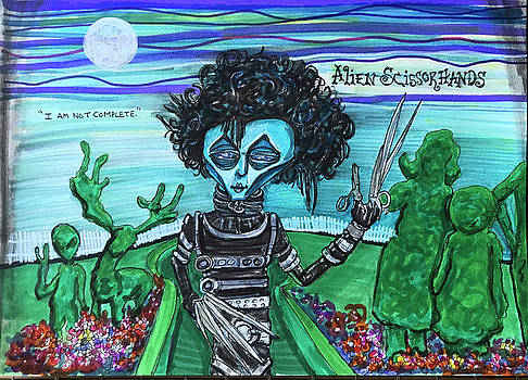 Alien Scissorhands by Similar Alien