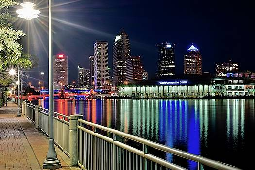 Frozen in Time Fine Art Photography - Alight Tampa Night