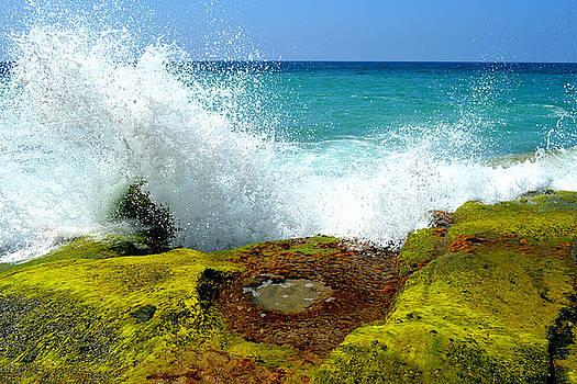 Glenn McCarthy Art and Photography - Aliso Point Splash - Laguna Beach