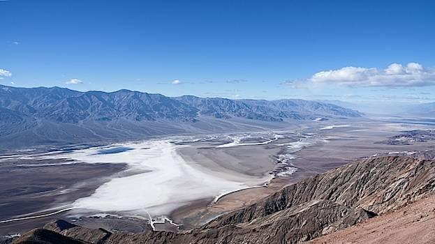 Alkali Flats Death Valley by Allan Van Gasbeck