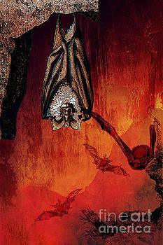 All Hallows Bat Cave  by Tammera Malicki-Wong