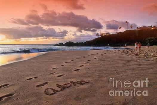 Aloha Kaanapali Beach by DJ Florek