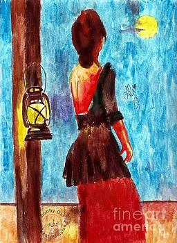 Alone moon by Ali Muhammad