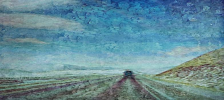 Alone on Wyoming I-80 by Lenore Senior
