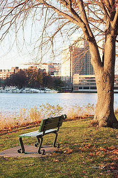 Along the Charles by Suzanne Gaff