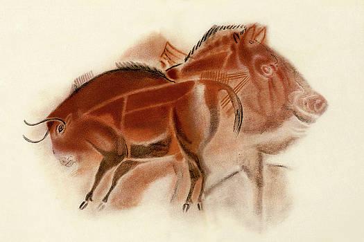 Weston Westmoreland - Altamira Bison Boar and Horse