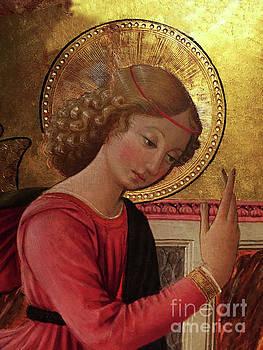 Tina Lavoie - Altarpiece Angel Antique Christian Catholic religious art