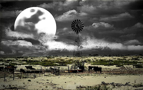 Altered State Western Landscape by Andrea Lazar