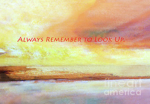 Sharon Williams Eng - Always Look Up Poster