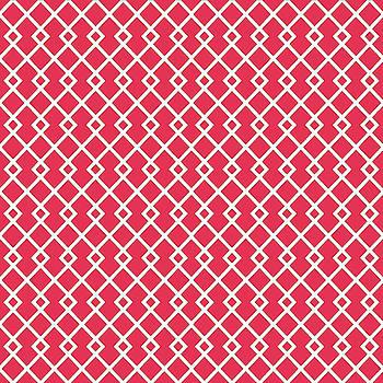 Amaranth Red Diamond Pattern by Ross