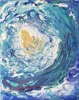 Amazing beauty under the wave by Olga Malamud-Pavlovich