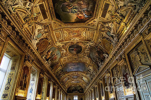 Wayne Moran - Amazing Ceilings and Art  The Louvre Museum Paris France Musee du Louvre