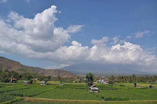 Amed village Bali by Inessa Williams