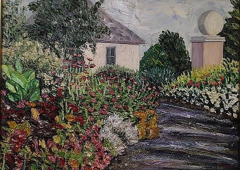 Amelia Park Flower Pathway by Richard Nowak