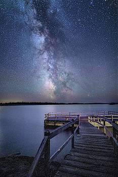 America Dock at ISle Royale National Park by Nick Noble