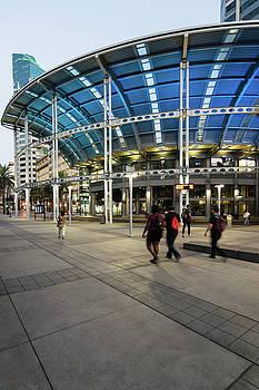 Robert VanDerWal - America Plaza In Blue