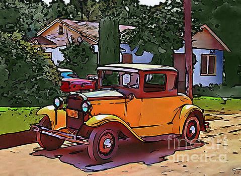 American retro car collection - 1 by Sergey Lukashin