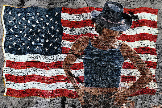 American Woman Composite by John Rodrigues