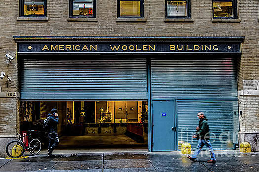 American Woolen Building by Thomas Marchessault