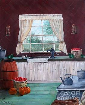 Americana Farm Kitchen by Lee Piper