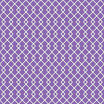 Amethyst Purple Diamond Pattern by Ross