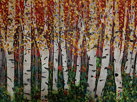 Among The Birch by Ruth Palmer