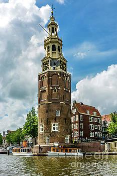 Amsterdam Clocl tower by Daniel Ryan