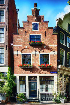 Amsterdam Street Corner by George Oze